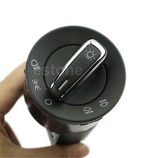 OE Chrome Euro Headlight Switch For VW Golf Jetta MK4 Beetle Passat B5 Bora