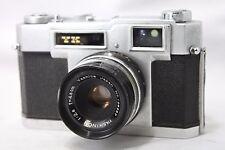 Vintage Yashica YK 35mm Film Camera w/Yashinon 1:2.8 4.5cm Lens **As Is** #N013c