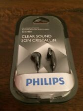 Philips Clear Sound Earbuds Black In Ear Buds In Ear Headphones SHE1360