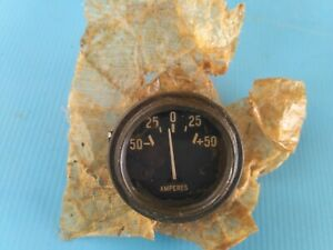 Nos original Military Gauge Amperes Willys MB GPW jeep truck