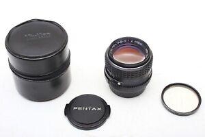 Pentax 85mm f2 SMC Super Multi-Coated M 85/2 K-Mount+Sharp Prime Lens+Set++MINTy