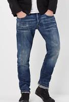 G-Star Raw Holmer Tapered Jeans Medium Aged Blue Mens Size UK W34 L34 *REF74-12