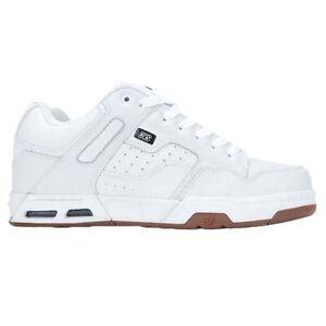 DVS NEW Men's Enduro Heir Shoes - White / Gum / Nubuck BNWT