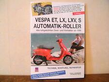 Vespa ET, LX, LVX, S Automatik-Roller Reparaturanleitung