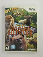 Cabela's Big Game Hunter 2012 - Nintendo Wii Game - Complete & Tested