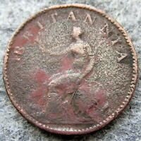 GREAT BRITAIN GEORGE III 1806 FARTHING - 1/4 PENNY COPPER