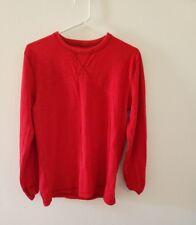 Boys Arizona red knit shirt XL.
