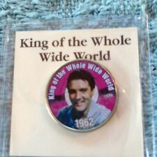 """NOS ELVIS MYSTIC OLORIZED QUARTER TOP 40 HITS """"KING OF THE WHOLE WIDE WORLD"""""""