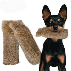 Rabbit Fur  Dog Training Dummies +Throwing Toggle 4Gun Dog Trainers 500- 1000g