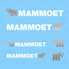 Mammoet calcomanías escala 1/50 - Blanco/Plateado