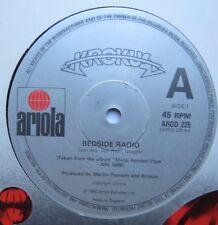 """KROKUS - Bedside Radio - Excellent Condition 12"""" Single Ariola AROD 225"""