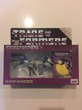 G1 Takara Transformer Destron Cobalt Sentry Cassette E-hobby Exclusive MISB