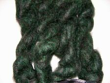 Brushed Mohair Yarn Lot Forest Green, 4 skeins!!