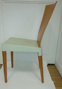 1 MISS TRIP STUHL,Philippe Starck Kirsche/salbeigrün,Designer Made in Italy