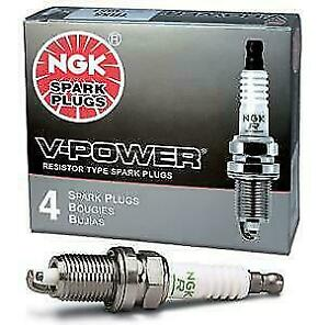 COMMODORE LS1 / GEN3 - NGK TR6 V Power Spark Plugs Set of 8 - Suit Cammed/Turbo