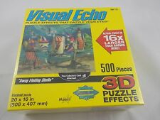 Visual Echo 3D Puzzle Effects Away Finding Shells 500 Pcs SEALED 2007