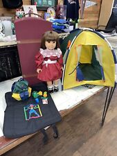 Pleasant Company Samantha American Girl Doll, Trunk, Clothes-Retired TENT