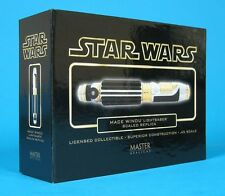 Master Replicas Star Wars Mace Windu Lightsaber .45 Scale Replica Gold Chase