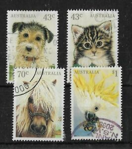 Australia 1991 Domestic Pets Used Set