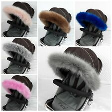 Hood fur Trim Pram Pushchair Carrycot Buggy  Icandy  my Babies Universal Fit