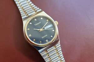 Vintage Tissot Seastar A550X Automatic Steel and Gold Gents / Mid-Size Watch