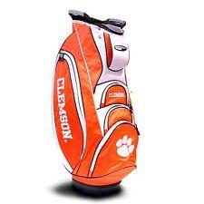 NEW Team Golf NCAA Clemson Tigers Victory Golf Cart Bag