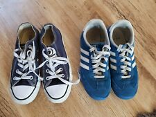 Boys Trainer Bundle. Sizes 3 and 3.5. Adidas and Converse