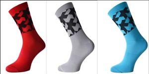 3 pairs assos monogram   cycling socks   all size