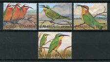 Zambia 2002 MNH Birds Definitives 4v Set Bee-Eaters Bird Stamps