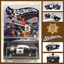2016 Hot Wheels Super Treasure Hunt 55 Gasser CUSTOM Chevy Candy Striper Police
