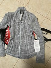 NWT LULULEMON WEE SPACE SILVER DEFINE JACKET SZ 2 COLOR CODE WASS