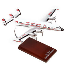TWA Lockheed L-1049 Super G Constellation Desk Display 1/85 Model MC Airplane