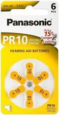 Panasonic 6x Hearing Aid PR70V10/PR70 PR10PR10 zinc-air hearing aid cell 1.4V
