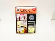 Cook Design Kit Stamp Changeables Personalize Your Life Made in USA
