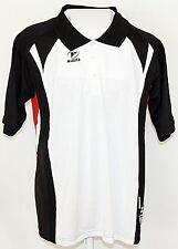 MASITA Polo Shirt Men  T-Shirt  Kurzarm  112012  Weiß/Schwarz/Rot  Größe Small