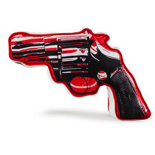 "kidrobot Andy Warhol Revolver Medium Plush - 10"" - Red - NWT"