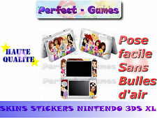 Skin sticker auto-collant vinyl legofriends pour console nintendo 3DS XL LL