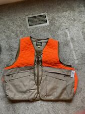 Cabela's Upland Traditions Hunting Vest Safety Orange  3XL NEW With Tag