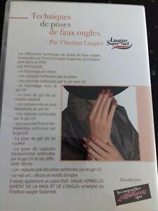 DVD 8B TECHNIQUES DE POSES DE FAUX ONGLES PAR L'INSTITUT LAUGIER SUPER NAIL SPA