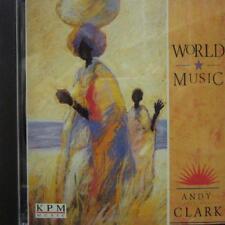 Andy Clark(CD Album)World Music-KPM Music-KPM159-UK-1991-New