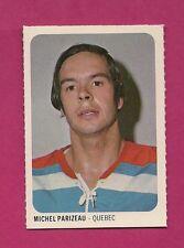RARE 1973-74 WHA QUAKER OATES NORDIQUES PARIZEAU EX-MT MINI CARD (INV#1301)