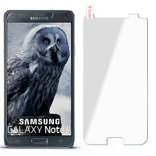 Curb Foil Glass Film for Samsung Galaxy Note 4 Hard Clear New Display Protector