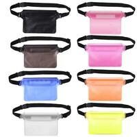 Waterproof Waist Bag Outdoor Beach Swimming Drifting Sealed Mobile Phone Pouch