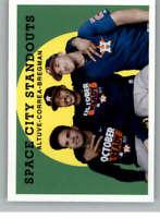 2018 Topps Archives #310 Alex Bregman/Jose Altuve/Carlos Correa Astros