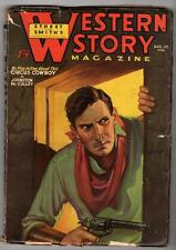 Western Story Aug 29 1936 Johnston McCulley