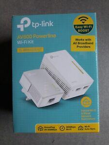 TP-Link TL-WPA4220 AV600 Powerline WiFi Kit Plug ,Pair and Play