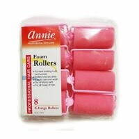 Annie #1054 Foam Rollers X-LARGE (8CT)