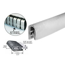 White Rubber Seal Trim  Car Auto Door Sharp Edge Protection Strip Dust Proof 3Ms