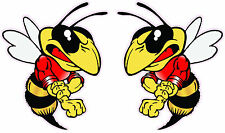 """Stinger Bee Pairs Decal 6"""" Each"""