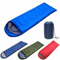 Outdoor Waterproof Sleeping Bag Backpacking Adults Camping Hiking Warm Envelope